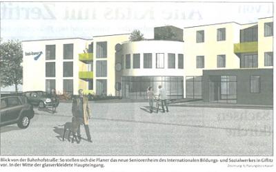 Vorstellung der Pläne für das Pflegeheim Giflitz