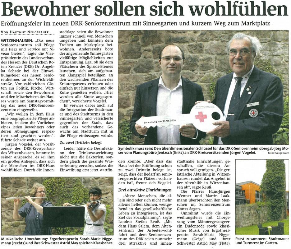 2014-06-27 Einweiung DRK Witzenhausen