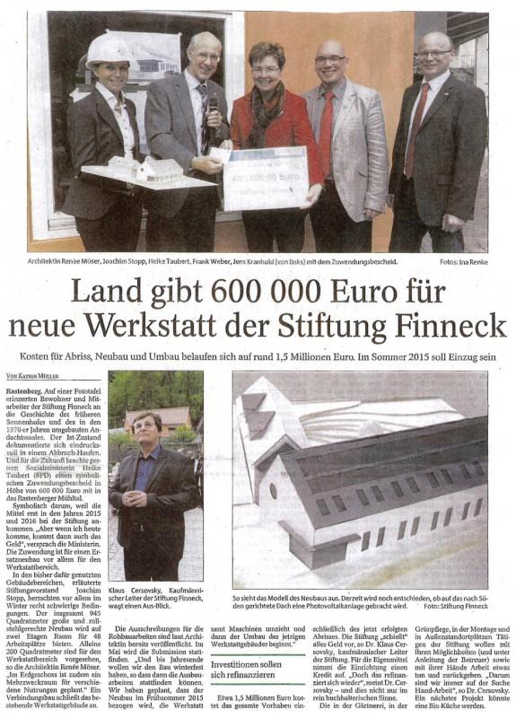 Pressemitteilung Sömmerdaer Allgemeine