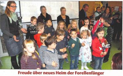 Einweihung der Kita Forellenfänger in Fürstenhagen