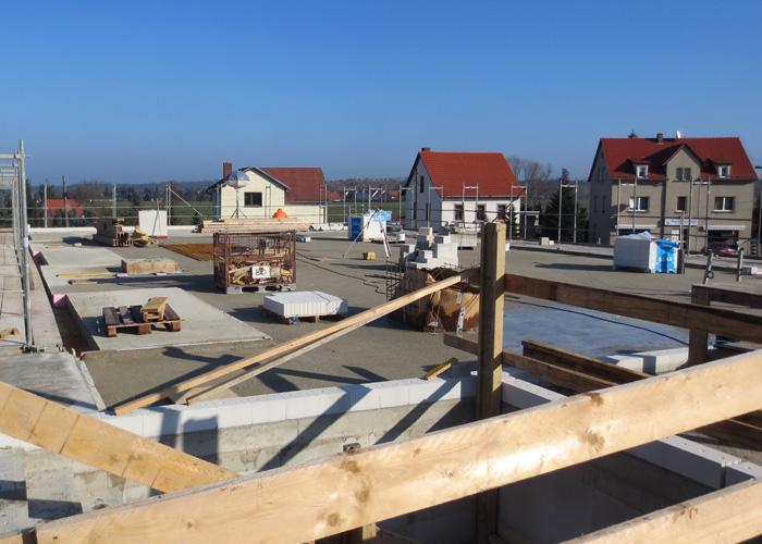 Baufortschritt am Pflegeheim Wermsdorf