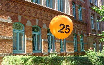 25 jähriges Bürojubiläum am Standort Erfurt