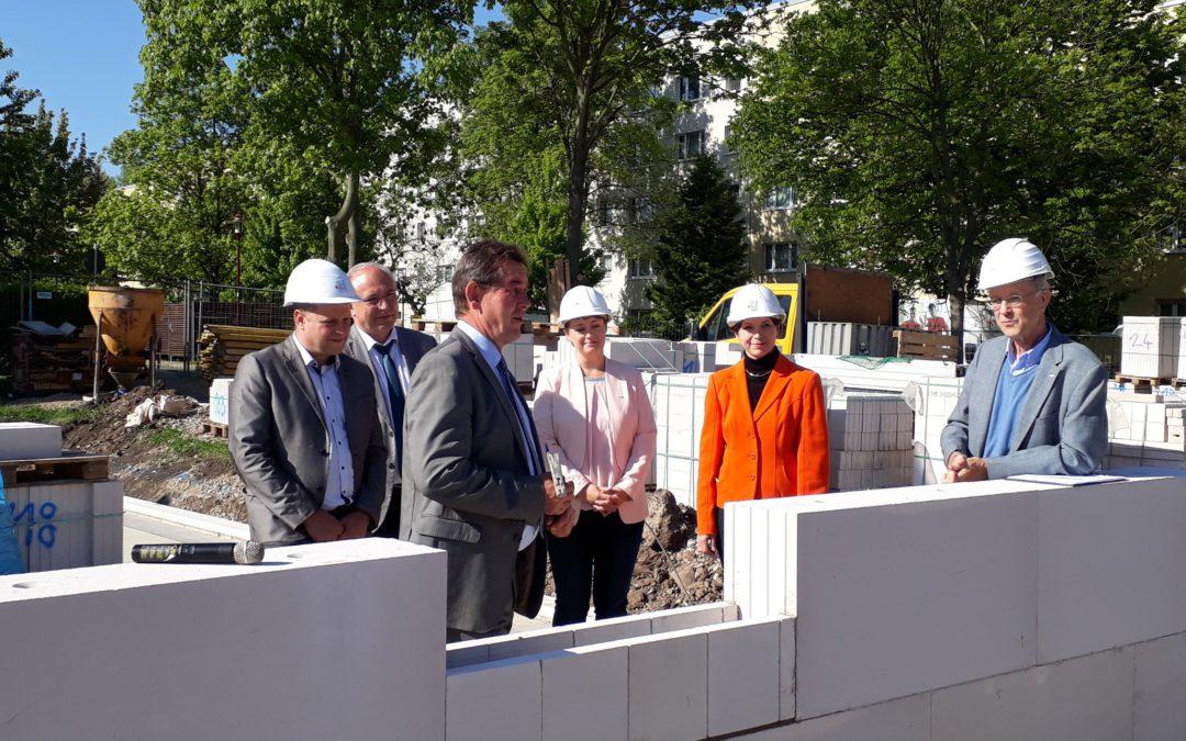 Grundsteinlegung Wohn- und Therapiezentrum Sömmerda