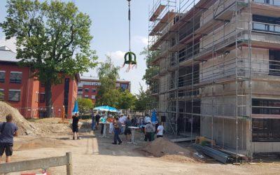 Richtfest Neubau Medizinisches Versorgungszentrum Arnstadt