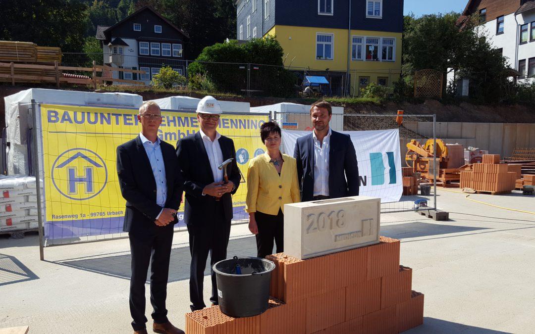 Grundsteinlegung Neubau Seniorenpflegeeinrichtung Bad Tabarz