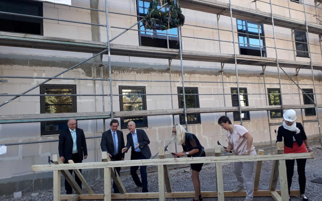 Richtfest Neubau Wohn- und Therapiezentrum Sömmerda