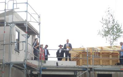 Richtfest Neubau Seniorenresidenz Bad Elster
