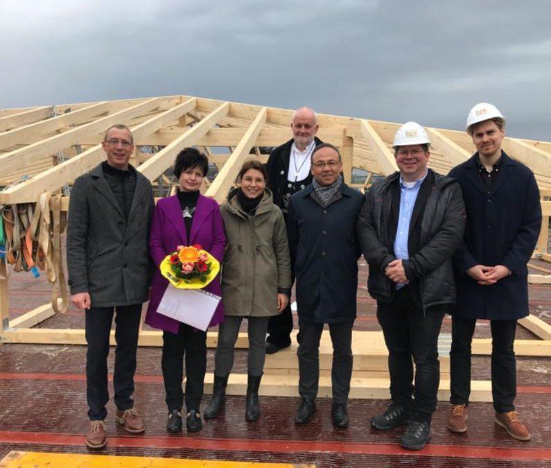 Richtfest Neubau eines Seniorenpflegeheimes mit 90 Plätzen in Bad Tabarz