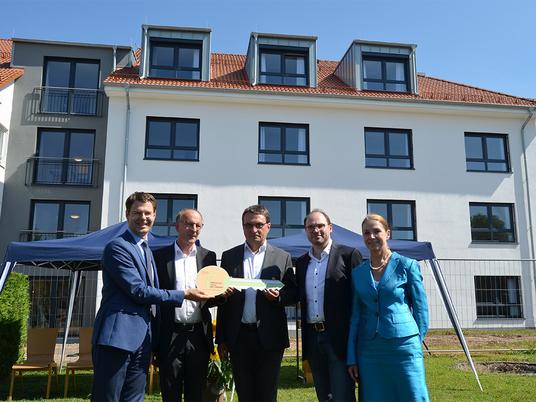 Einweihung des Anbau Immanuel Haus Bethanien in Hünfeld