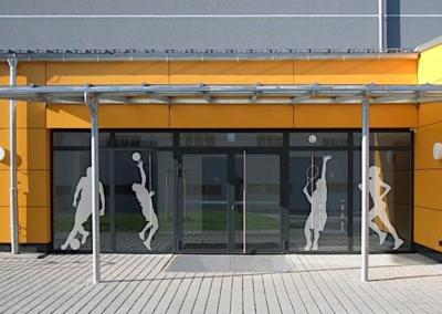 Dreifeldschulsporthalle | Lauterbach
