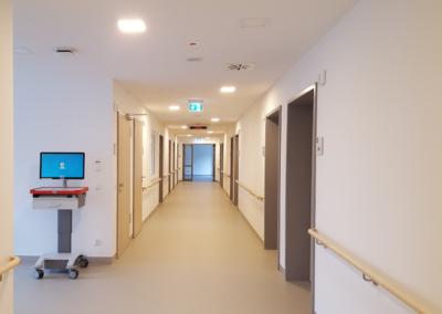 Diagnostik- und Bettengebäude | Reifenstein